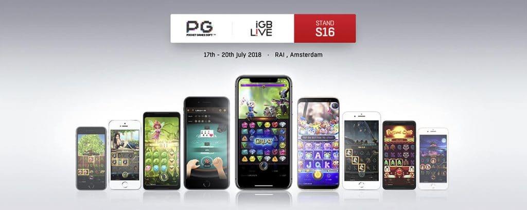 PG SLOT จะเข้าร่วม Netherlands iGB Live