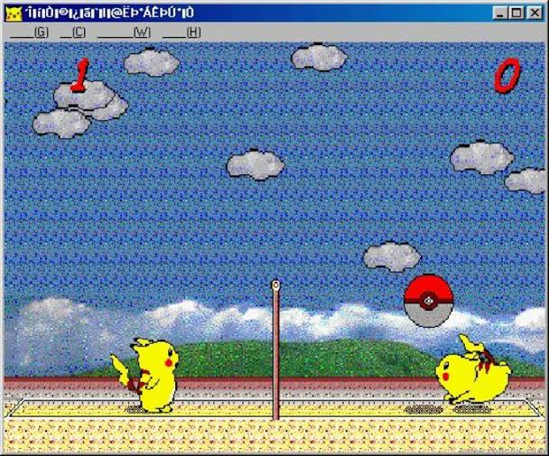 Pikachu Volleyball
